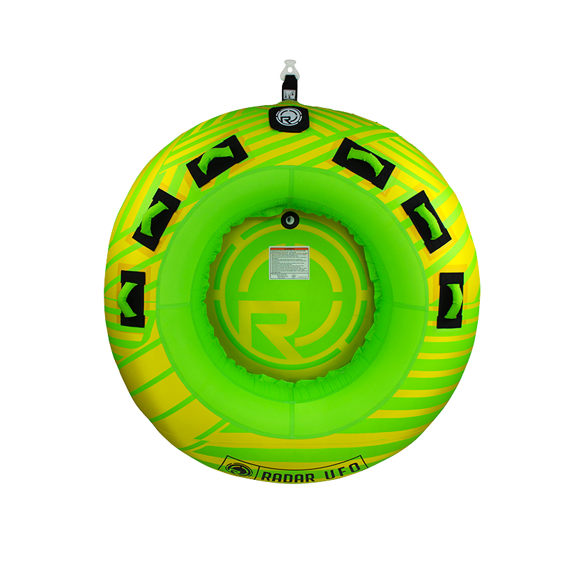 Radar UFO - Yellow/Green - 2 Person Tube