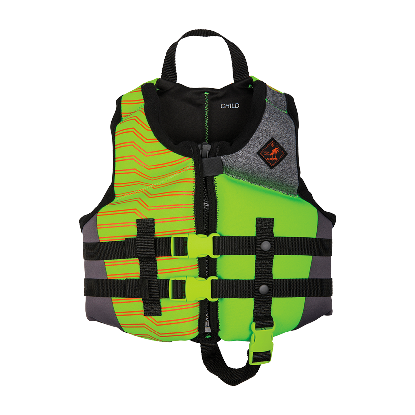 Ronix Vision Boy's Child - CGA Life Vest - Lime/Heather