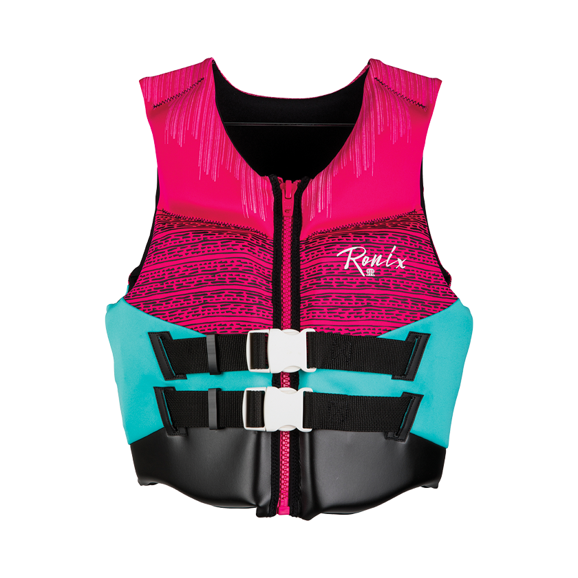 Ronix Women's Daydream - CGA Life Vest - Pink/Turquoise
