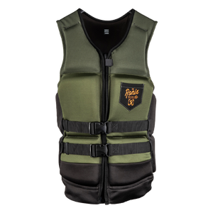 2020 Ronix Forester Capella 3.0 - CGA Life Vest - Olive/Orange
