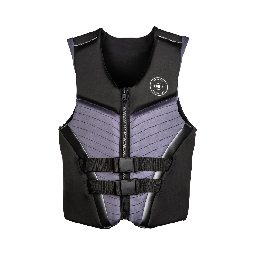2020 Ronix Covert - CGA Life Vest - Black/Grey
