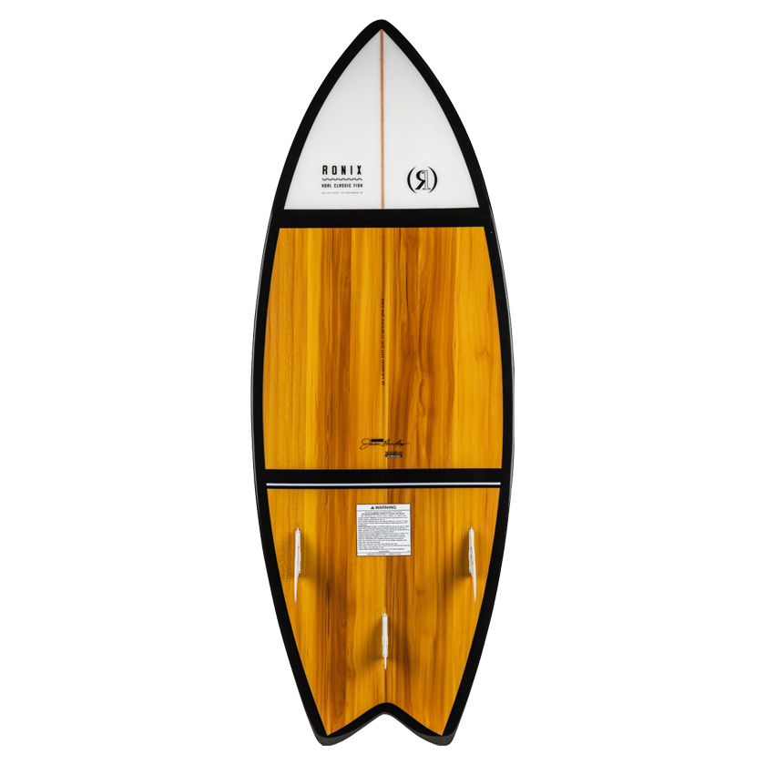 2020 Ronix Koal Classic Fish - Maple/White/Black