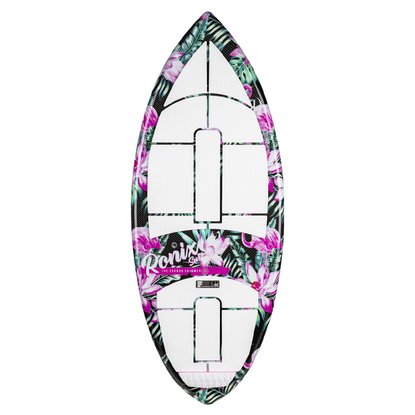 2020 Ronix Women's Carbon Air Core 3 Skimmer - Tropical Oasis