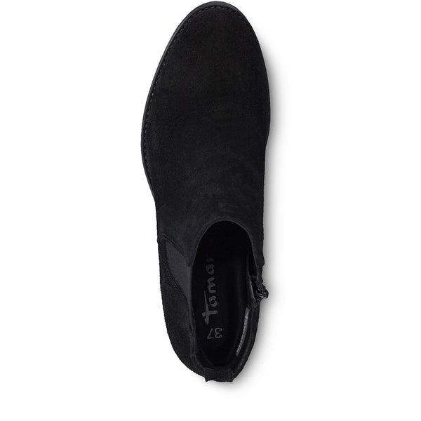 Tamaris Black Suede