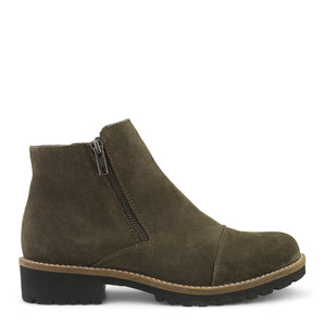 Low Cut Boot W. Double Zipper