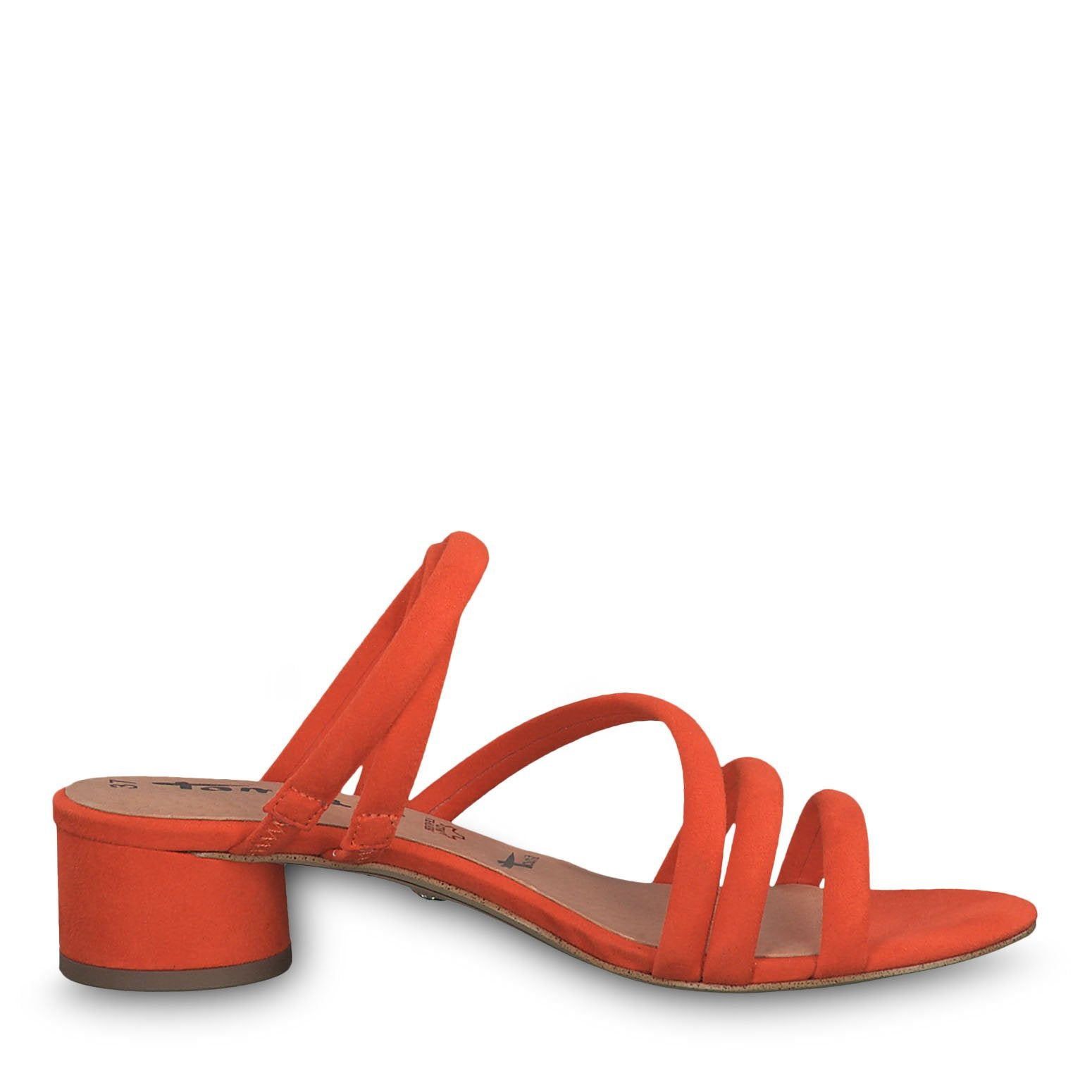 Tamaris Orange sandal shop online på shoeandstyle.dk