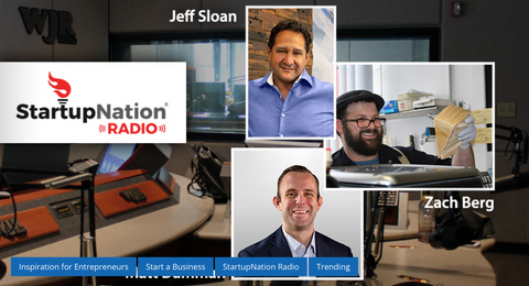 Startup Nation, Commando Lock Radio Interview Matt Damman
