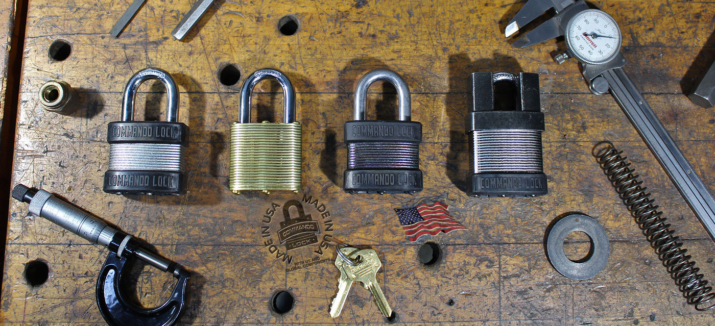 Commando Padlocks, Brass Locks, Military Grade