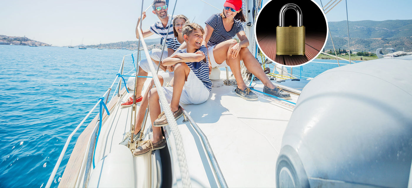 The Best Padlock, Brass lock, Secure boat lock