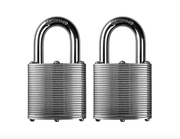 Commando Lock | Heavy Duty Padlock | Military-Grade Weatherproof Commando Lock 2 PACK KEYED ALIKE