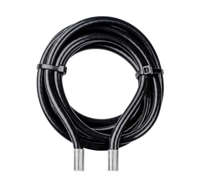 iCHANGE 8ft. Steel Coated Cable - Black