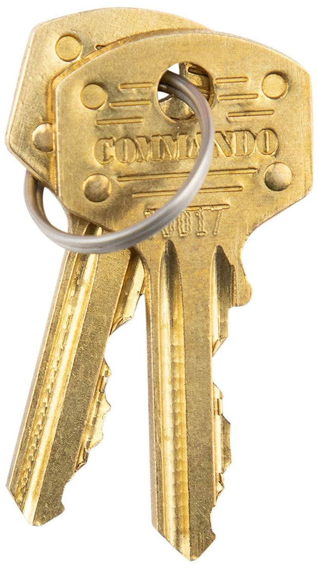 Commando Lock Key
