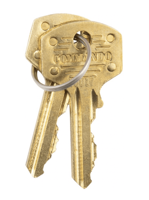 Commando Lock - Key Blank