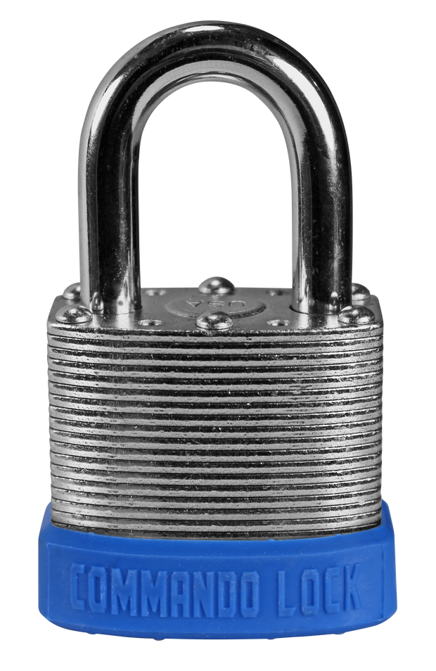 Blue Customer Color Padlocks Commando Lock Keyed Alike Master Keyed lock