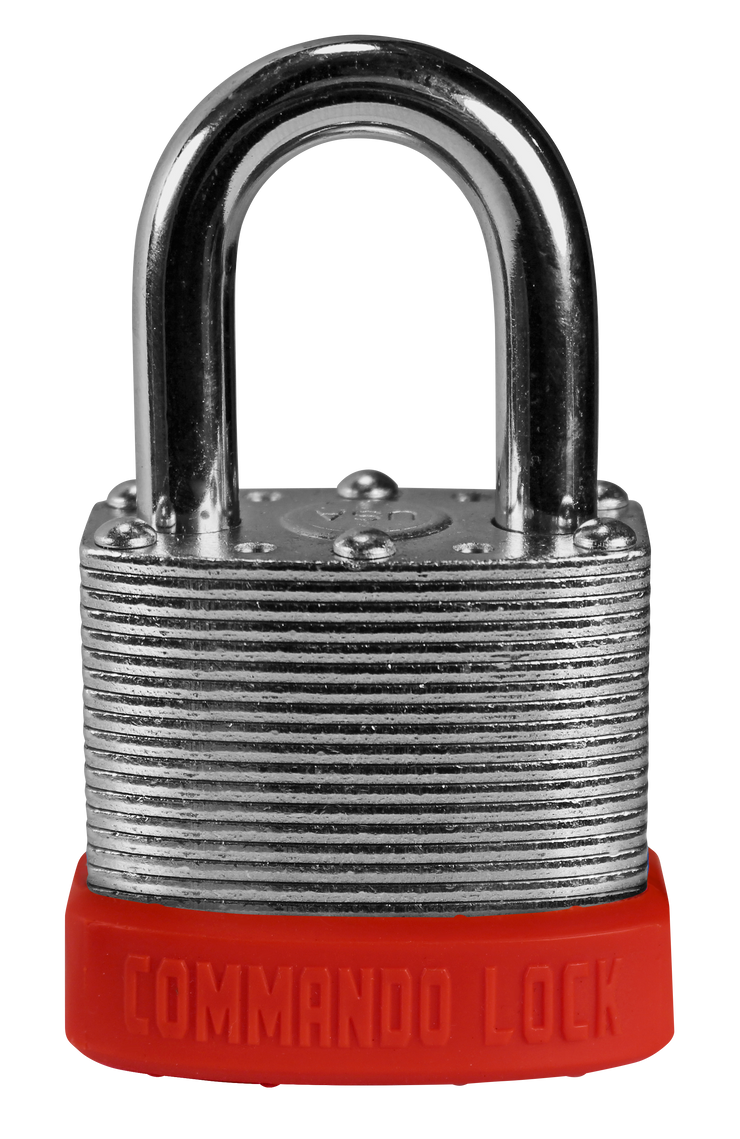 Red Orange Customer Color Padlocks Commando Lock Keyed Alike Master Keyed lock
