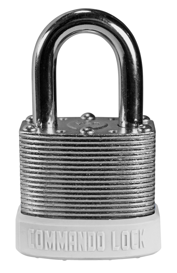 White Customer Color Padlocks Commando Lock Keyed Alike Master Keyed lock
