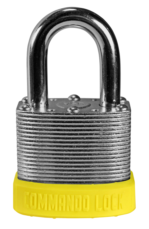 Yellow Customer Color Padlocks Commando Lock Keyed Alike Master Keyed lock