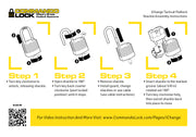 PRO Kit iChange  | 4-IN-1 Padlock System | 2-Lock, 4-Shkl, 8ft. Cbl
