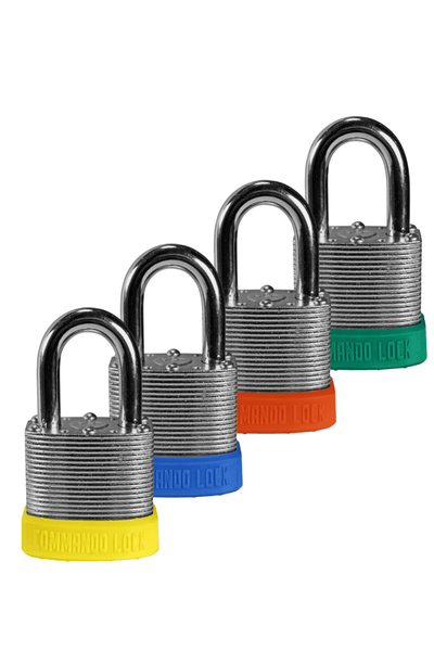 Commando | Commercial Padlocks | Keyed Alike Colors | High Security