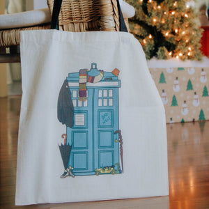 Bluebox Tote Bag