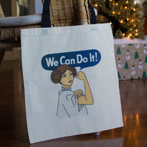 Leia We Can Do It Tote Bag