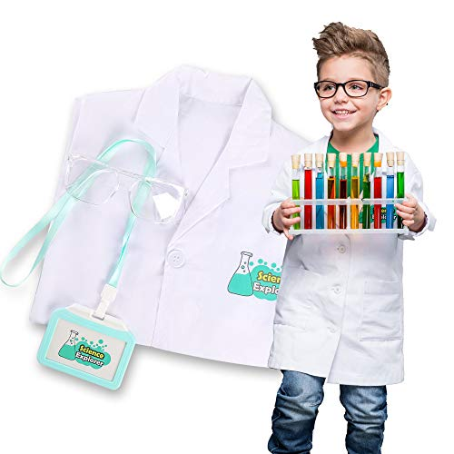 Scientist Lab Coat for Kids Costume