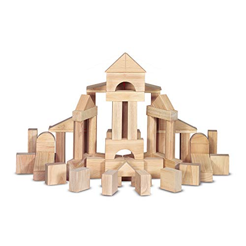 Melissa & Doug Wooden Building Blocks