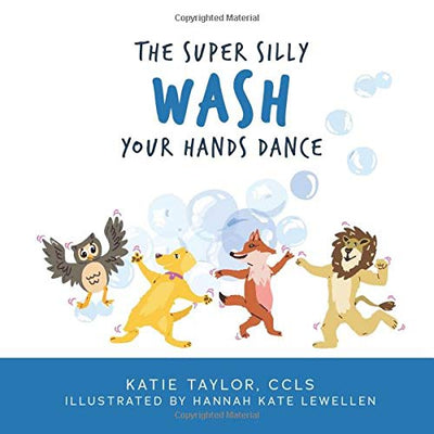 """The Super Silly Wash Your Hands Dance"" Book"