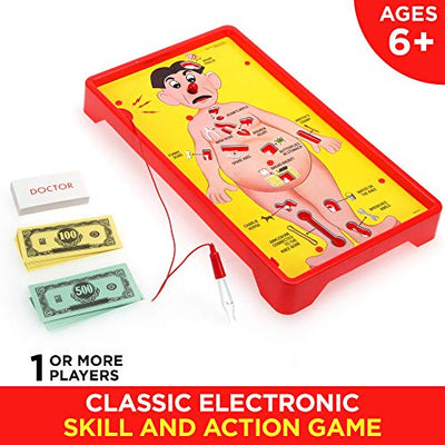 Operation Electronic Board Game