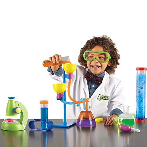 Learning Resources Primary Science Deluxe Lab Set,45 Piece Set