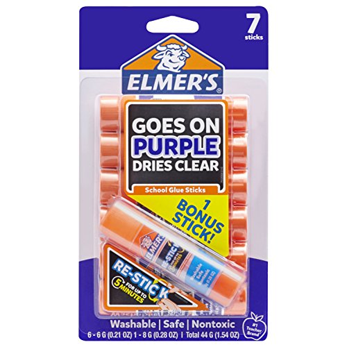 Elmer's Disappearing Purple Glue Sticks