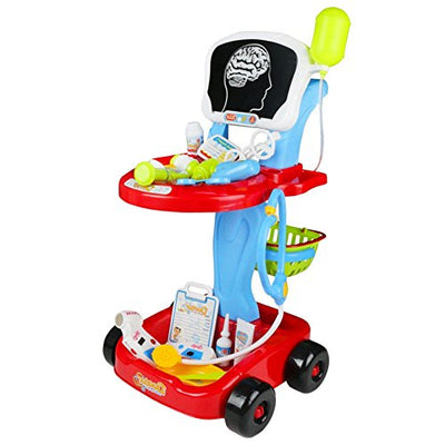 Fajiabao Doctor Cart Pretend Play Set