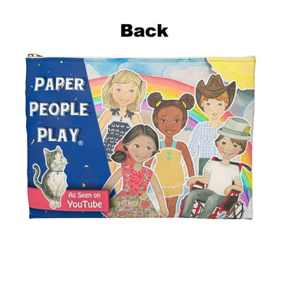 """Paper People Play"" Carry Case"