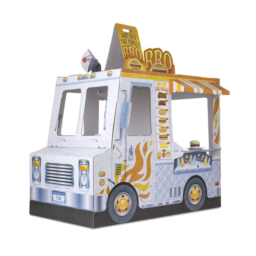 Melissa & Doug Pretend Play Food Truck (Ice Cream and Barbecue Truck)