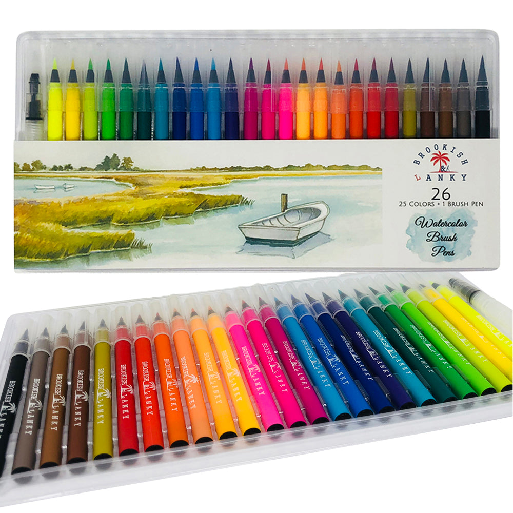 BIRTHDAY GIVEAWAY (Watercolor Brush Pens)