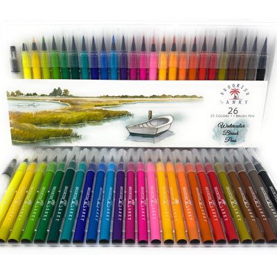 Brookish & Lanky Watercolor Brush Pens (FREE- JUST PAY SHIPPING)