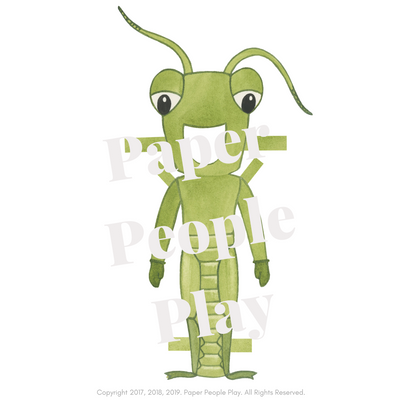 """The Ant and The Grasshopper"" Costume Kit + Hummingbirds"