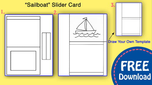 Sailboat Slider Card