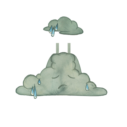 """Among the Clouds"" RAIN CLOUD Costume"