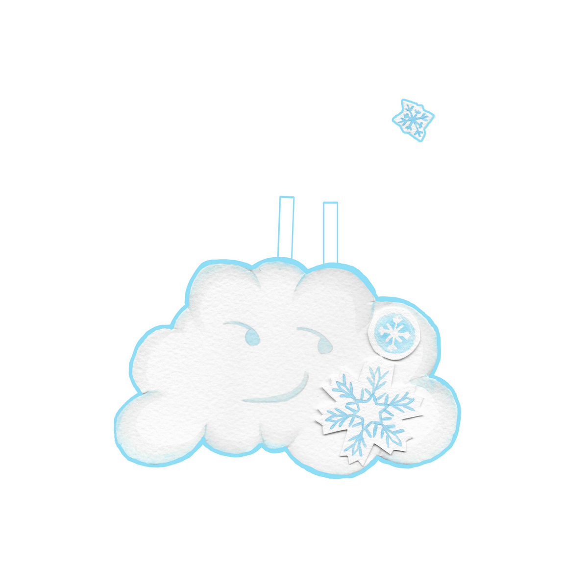 """Among the Clouds"" SNOW CLOUD Costume"