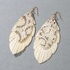 Lucille Leaf Earrings