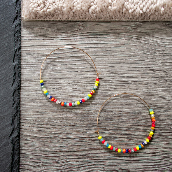 Sasha Hoops Earrings