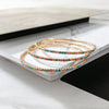 Delmy Stone Multi Bangle Bracelets