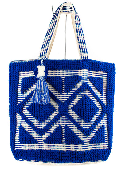 Diamond Tapestry Tote Bag