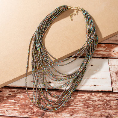Xenia Beaded Necklace