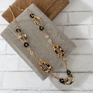 Gabriela Animal Print Necklace Set