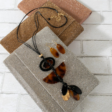 Gemima Resin  Necklace Set