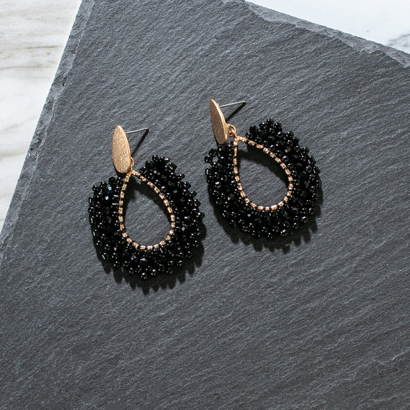 Jacklyn Beaded Earrings