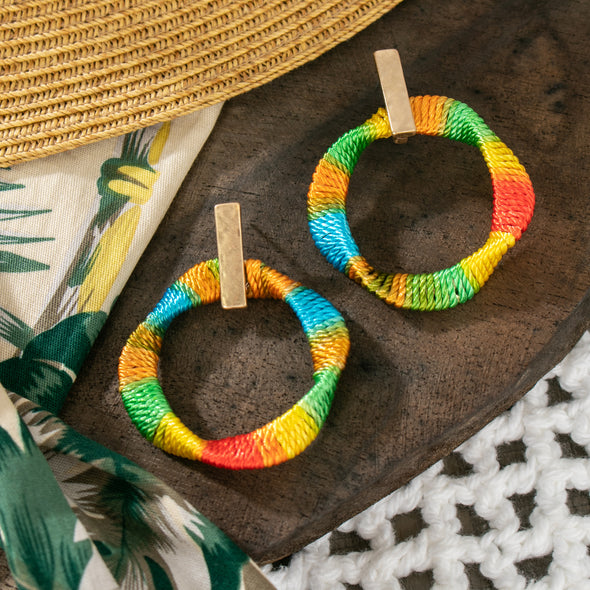 Phoebe Woven Earrings