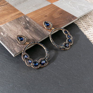 Alvena Rhinestones Earrings